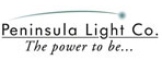 Peninsula Light Company logo