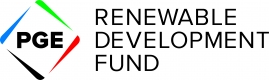 PGE Renewable Development Fund logo