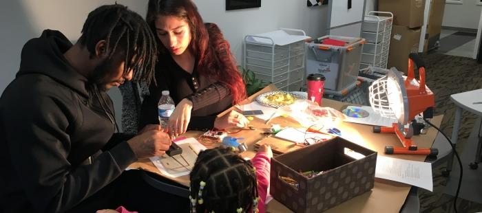 After school educators learning renewable energy science