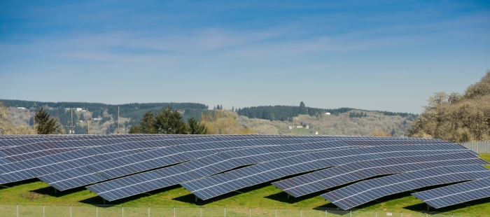 Steel Bridge Solar Array - Erin Berzel Photography